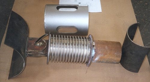 Stainless Steel Bellows Used as Spring Coil