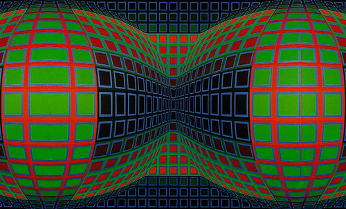"Victor Vasarely • <a style=""font-size:0.8em;"" href=""http://www.flickr.com/photos/30735181@N00/5324142630/"" target=""_blank"">View on Flickr</a>"