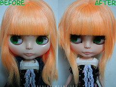Dalee before & after