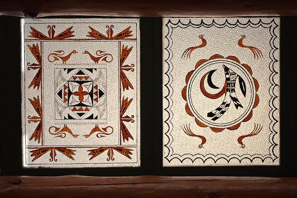 Trading Room Glass Art Panels
