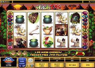 Witch Dr slot game online review