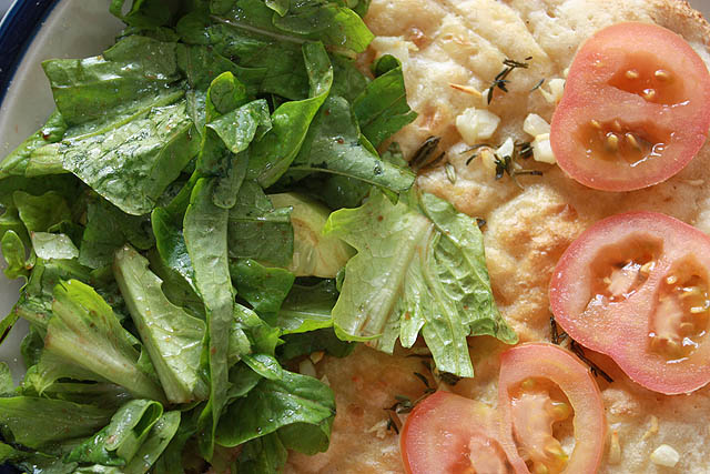 herb bread salad a