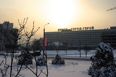 Минск — город-герой (Glebkach) Tags: winter snow minsk imagespace:hasdirection=false
