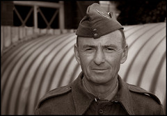Soldier Of The Home Guard. (Phil Dodd CPAGB BPE1*) Tags: monochrome sepia soldier mono portraiture homeguard dapa dapagroupmeritaward monoportraiture dapagroupmeritaward3 dapagroupmeritaward2