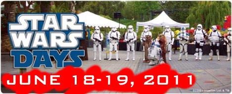 Star Wars Days June 18-19 2011