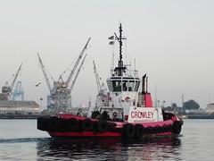 Tractor Tug Admiral (Konabish ~ Greg Bishop) Tags: harbor waterfront tugboat portofla portoflosangeles tractortug sanpedrocalifornia crowleymarine dscn4841