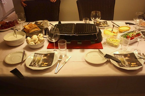 Raclette/Hot stone