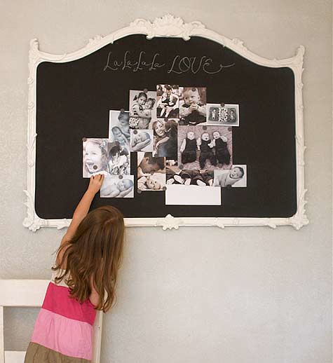 Magnetic Chalk Board Mirror