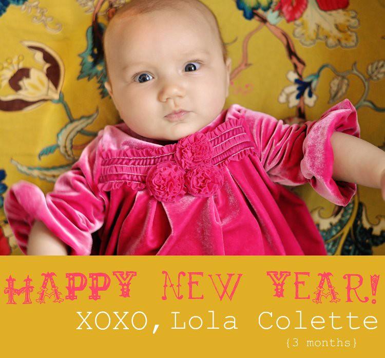 Lola 3 months
