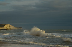 Winter seascape! (Susan SRS) Tags: uk winter sea england seascape canon sussex coast snapshot shoreline gb rottingdean img9303 sussexcoast canoneos7d january2010 nrbrighton