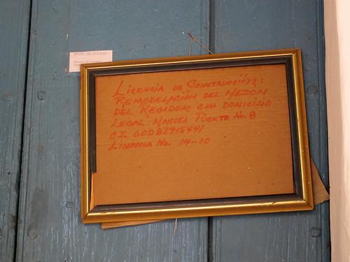 Trinidad, Cuba - renovation permit