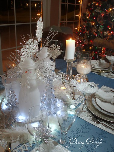 Dining Delight Snowflakes Amp Snowmen