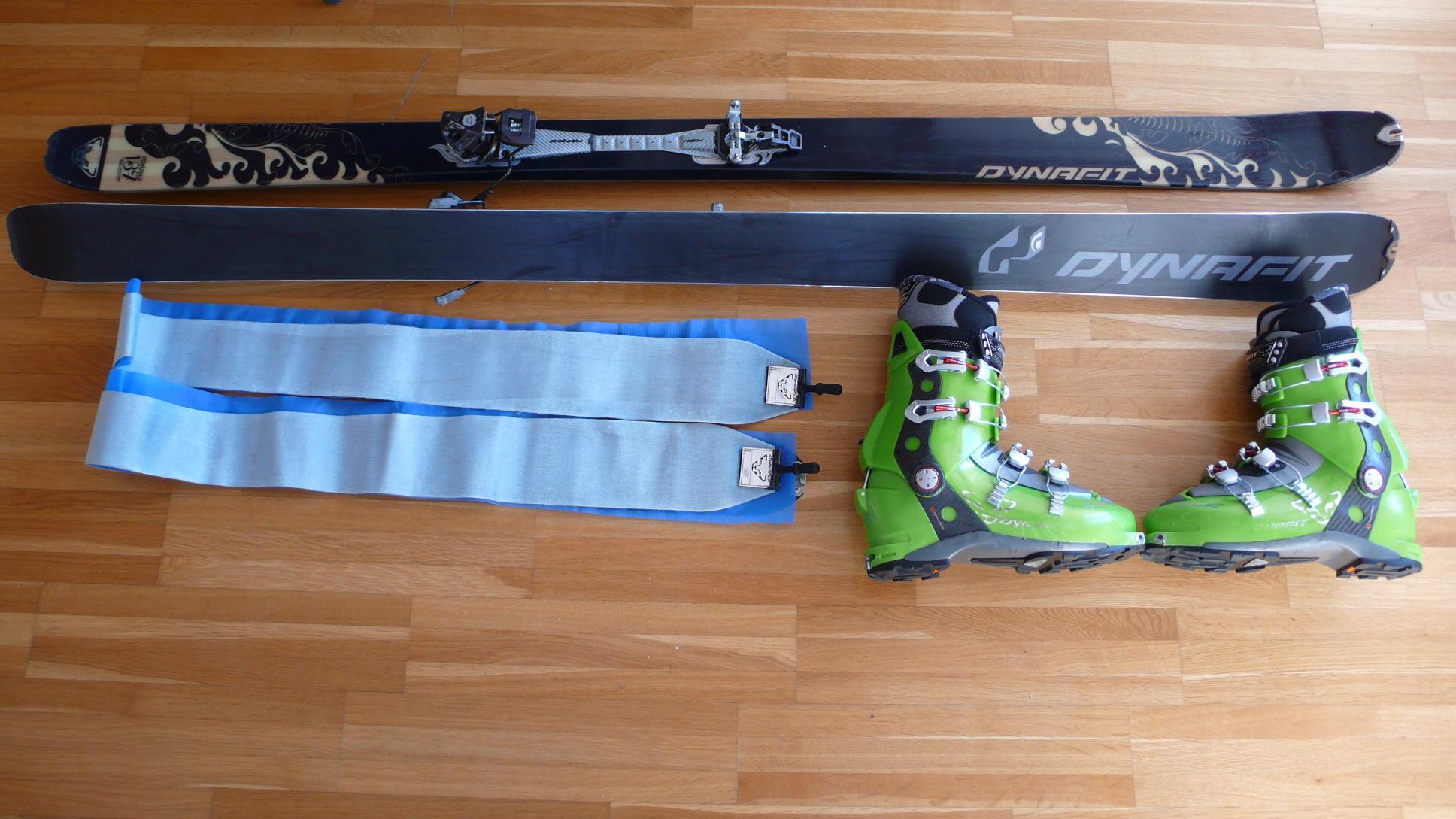 Lehká skialpový set - Bazar - SNOW.CZ dfd9b8dd4c9
