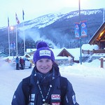 Jocelyn Ramsden Double Gold Medals at Lake Louise GMC Cup Giant Slalom