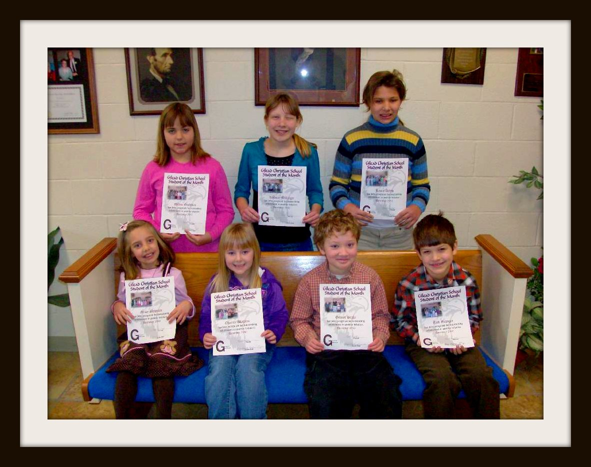 Dec. Students of the Month 001