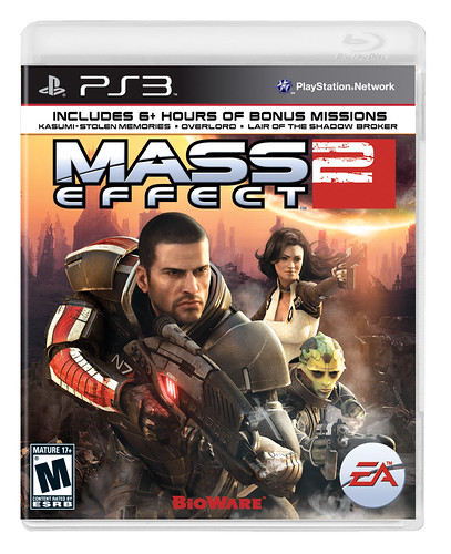 Mass Effect 2 PS3 Box
