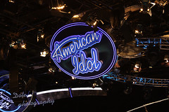 The American Idol Experience at Disney's Hollywood Studios (Dote []  [back!!]) Tags: blue black canon logo photography still photographer american experience hollywood idol studios  the   dote disneys               450d