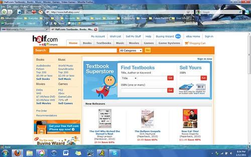 Half.com Website