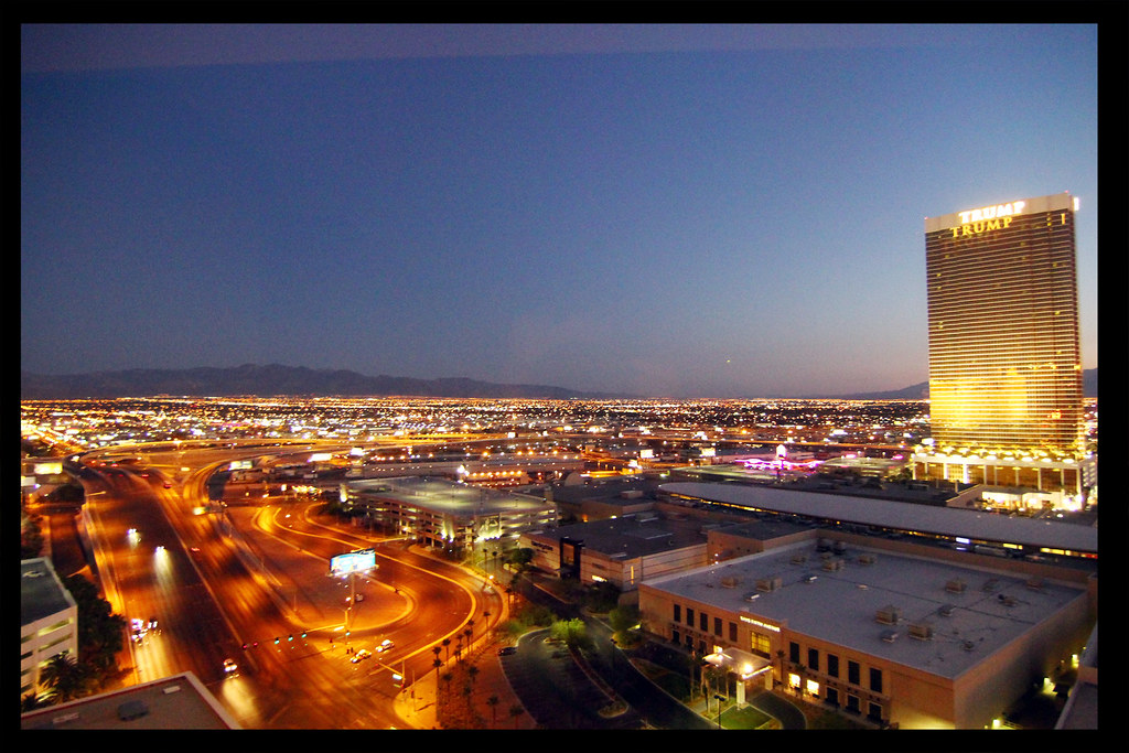 Vegas Night Shot (Mountain View)