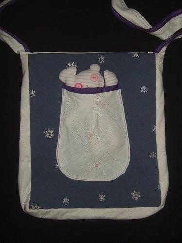 Snowflake critter bag