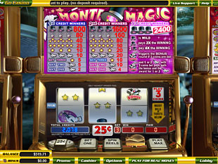 Monte Magic slot game online review