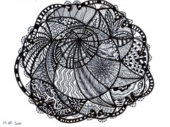 ups, I did it again... (Calabash Bazaar) Tags: doodle tangle zentangle zendoodle