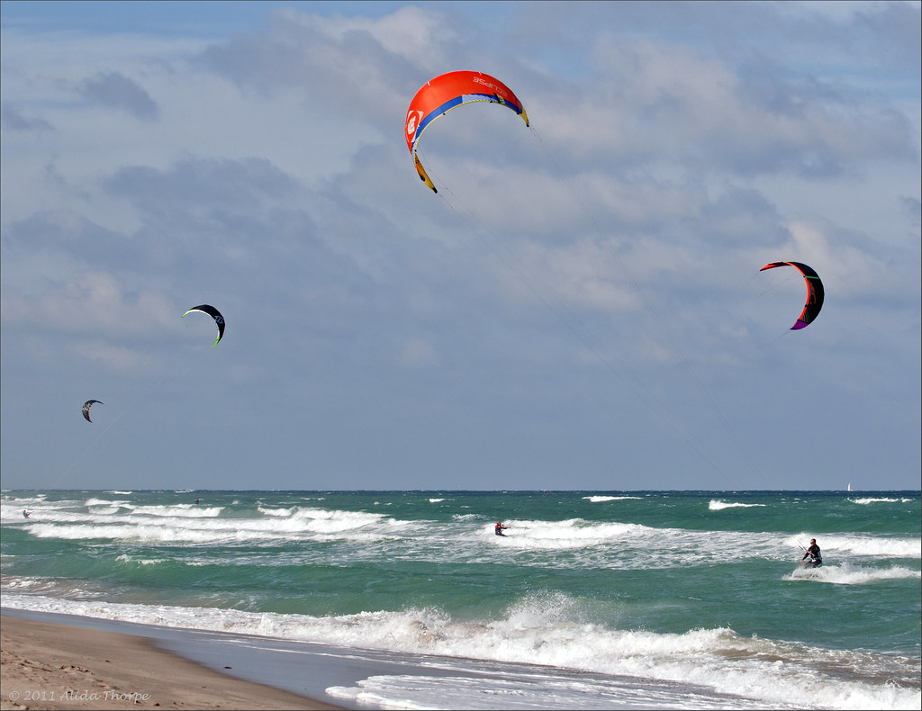 kite surfing jupiter