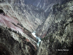Grand Canyon of the Yellowstone River, Wyoming, 1990, No. 1 -