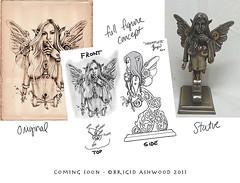 Incomplete - figurine (brigidashwood) Tags: fairy steampunk dieselpunk brigidashwood