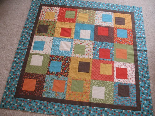 Lollipop Boxed In Quilt