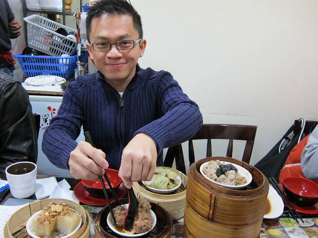 Lunch At Dim Sum Square, Sheung Wan