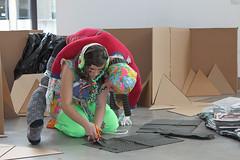 01.14.2011 (angela zammarelli) Tags: boston dolls performance cardboard installation angela mobius zammarelli