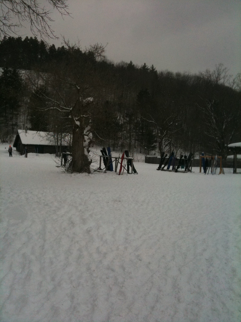 X-Country skiing at Mansfield