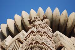 Architectural Detail, Khajuraho (hartjeff12) Tags: india khajuraho