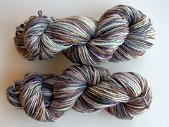 Spring Beauty on Single-ply Merino