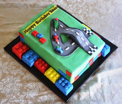 Lego Racecar Cake