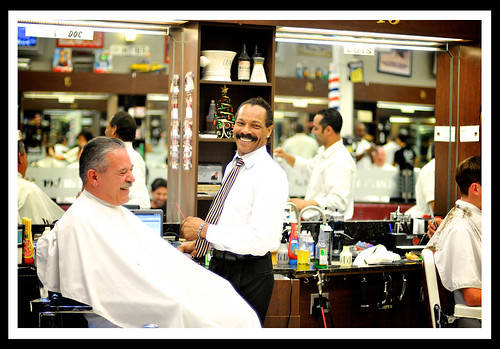 Carls Barber Shop — Peter Mahar Photography