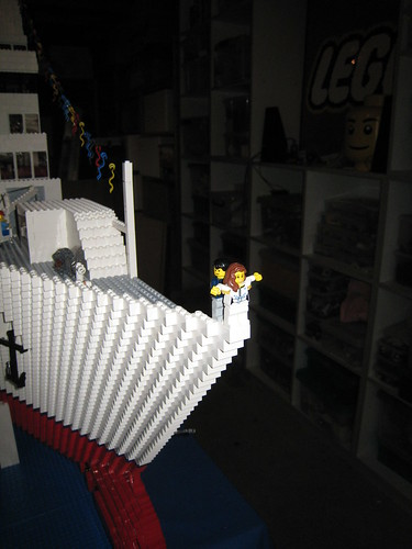 Custom minifig Titanic