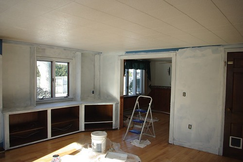 Living Room - Primed