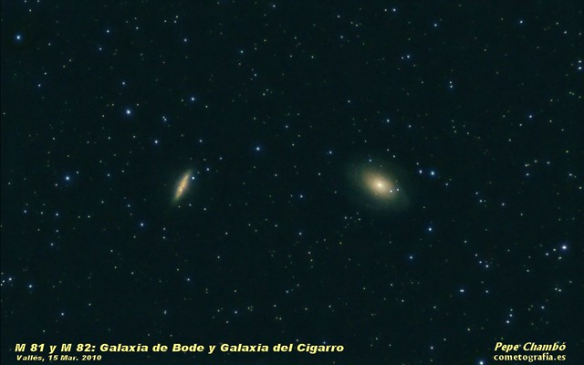 M 81 & M 82: Bode and Cigar Galaxies