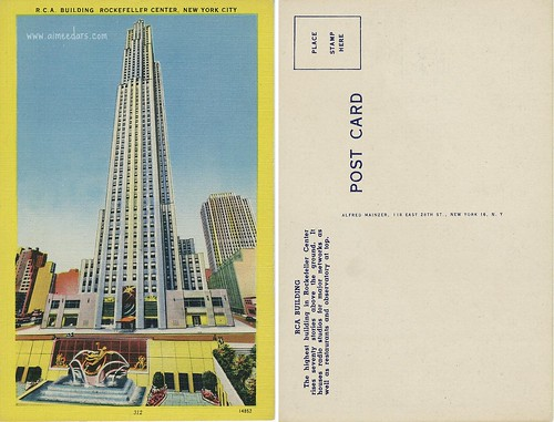 R.C.A. Building - Rockefeller Center
