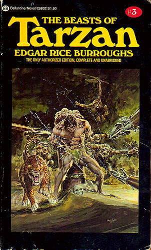 Beasts of Tarzan paperback