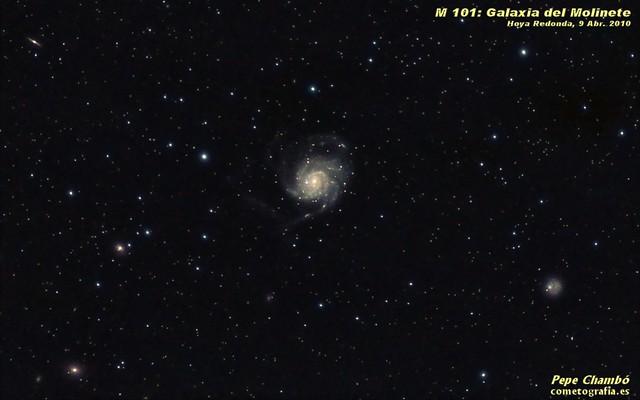 M 101: Pinwheel Galaxy