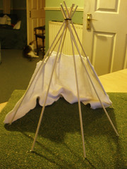 Tipi project - the lining