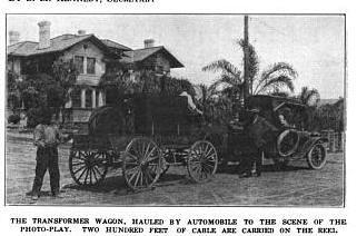 Transformer Wagon Santa Barbara Films