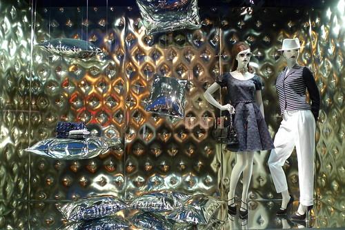 Vitrines Dior - Paris, janvier 2011