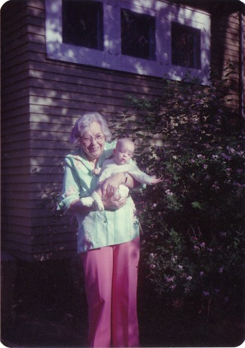 Grandma Thompson with Ruth