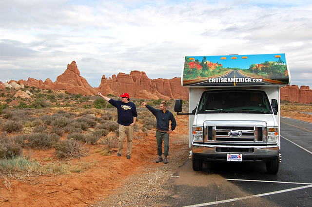 RV'in - Arches National Park