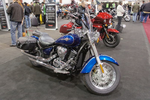 Vancouver Motorcycle Show 2011, Tradex Exhibition Centre, Abbotsford, Colombie-Britannique
