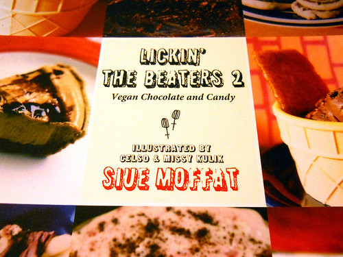 Lickin' the Beaters Cookbook Volume 2 - Cover Detail